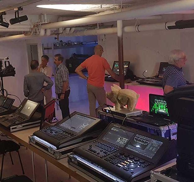 Swiss Light Distributor EMC opens Showroom