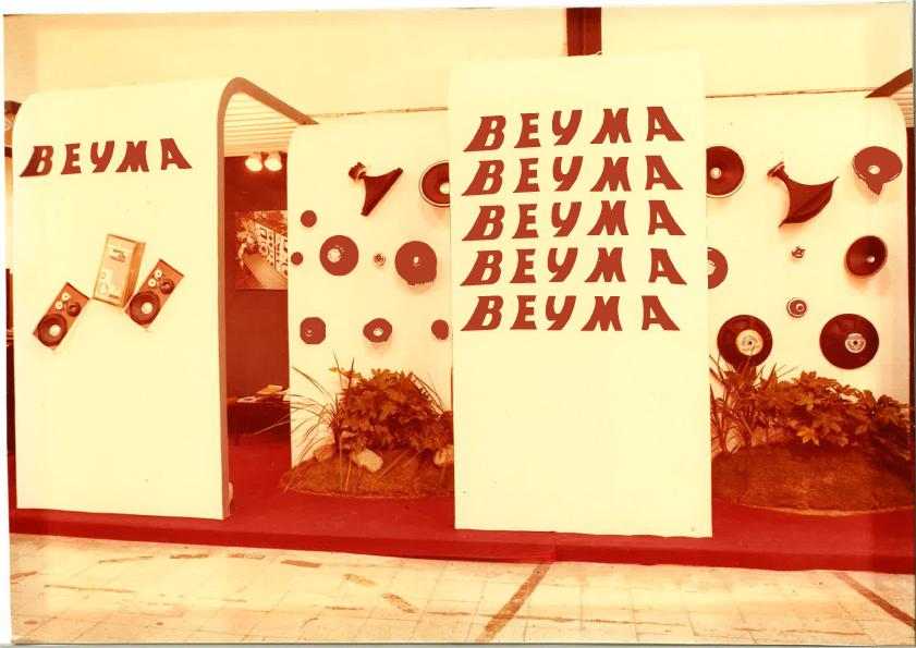 Beyma Booth Musikmesse 1974