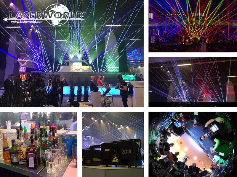 Laserworld at Prolight + Sound 2017