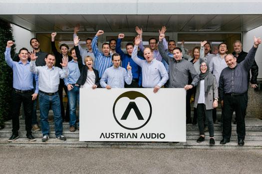 Team Austrian Audio Prolight + Sound