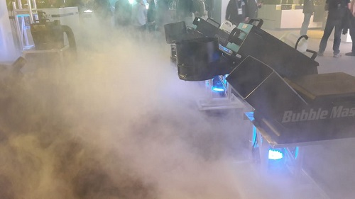 Ultratec fog machine on