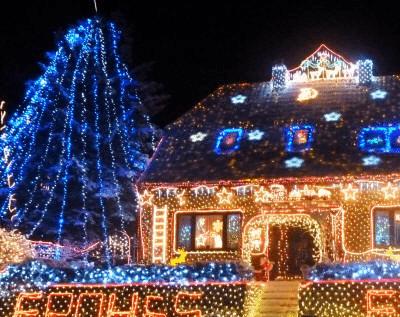 lights are lit