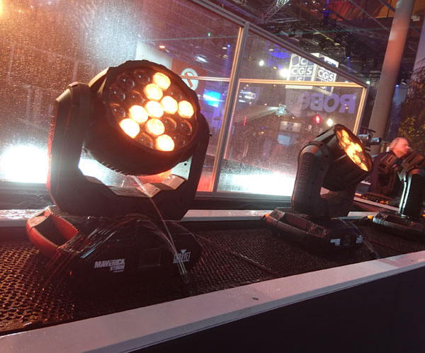 At Prolight + Sound 2019 Chauvet already presented the Maverick Storm Wash