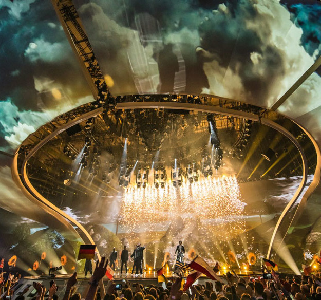 Best Practice – This Is How PRG Equipped the Eurovision Song Contest