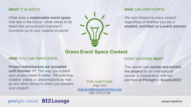Green Event Showcase Contest