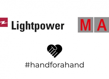 #handforahand: Lightpower And MA Lighting Help Event Industry