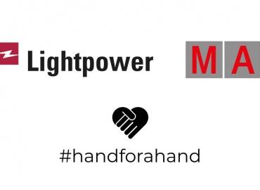 #handforahand: Lightpower And MA Lighting Help Event Industry