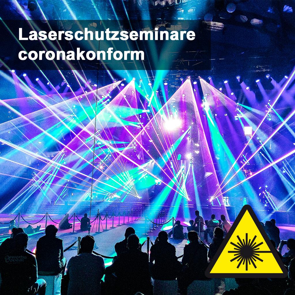 Laser safety seminars corona-compliant