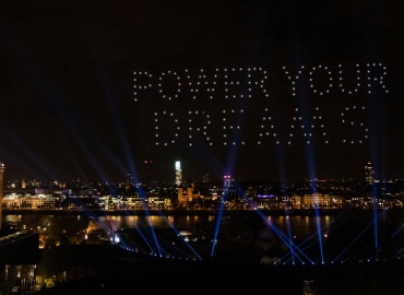 Spectacle In The Night Sky: Technology Arts Founds Nocturne Drone Shows