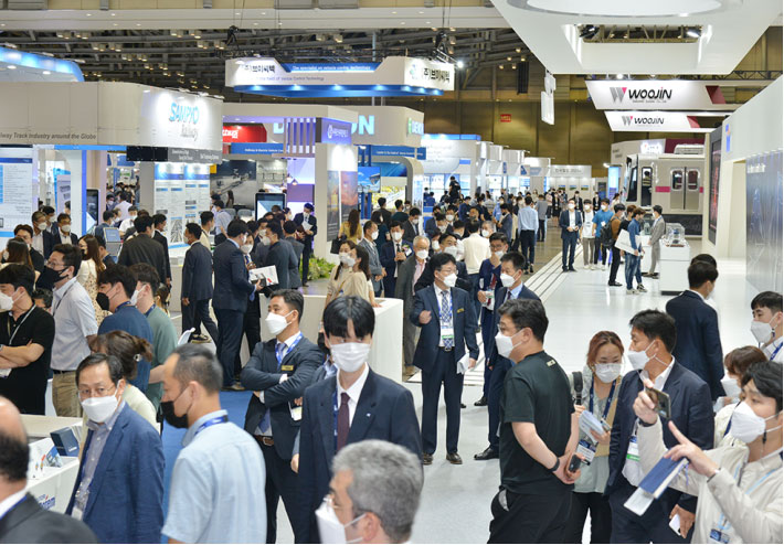 New start for trade fairs at RailLog in Korea in July 2021