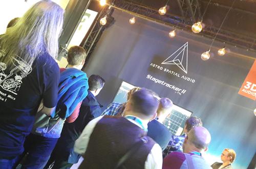 presentation product atro spatial audio