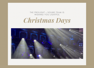 "Prolight + Sound wishes ""Merry Christmas"